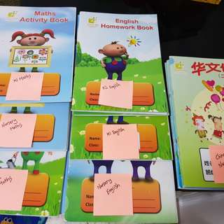 Nursery, K1 & K2 School Books