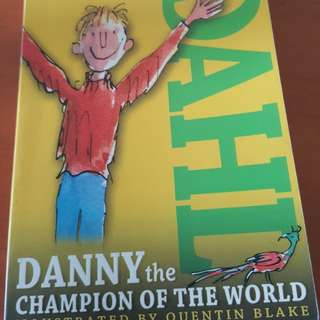 Roald Dahl Danny the Champion of the World - free postage