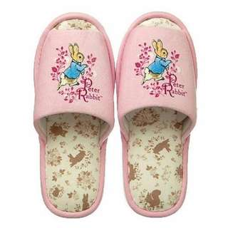 【現貨/售完下架】彼得兔/PETER-RABBIT:室內拖鞋(尺寸:22~24CM)_免運。
