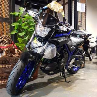 Yamaha MT-03 Street Bike