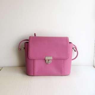 Pink Evb Satchel