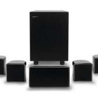 Jamo a102 7.2 mint speakers and sub