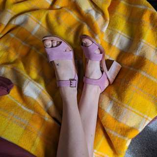Pink Gorman Shoes sz 38-39