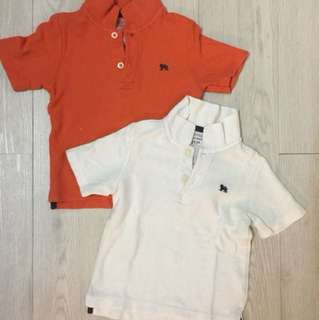 Old Navy baby boy 2 pack polo t-shirt