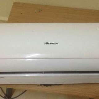 Aircond indoor unit 1HP
