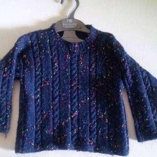 Preloved korean knit sweater