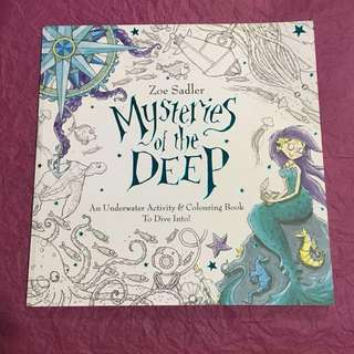 Zoe Sadler - Mysteries of the Deep (colouring book)