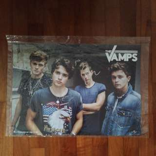 The Vamps Autographed Poster