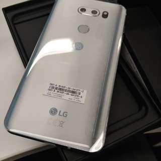 New LG V30+ Silver *no invoice - xmas lucky draw gift*