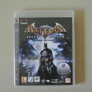 PS3 Game - Batman: Arkham Asylum