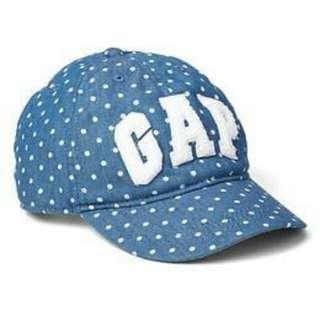 BNWT GAP logo dotty baseball hat denim