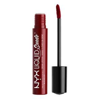 [INSTOCK] [SALE] NYX Liquid Suede Cream Lipstick (Cherry Skies)