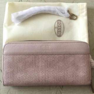 FOSSIL Auth Wallet Beige