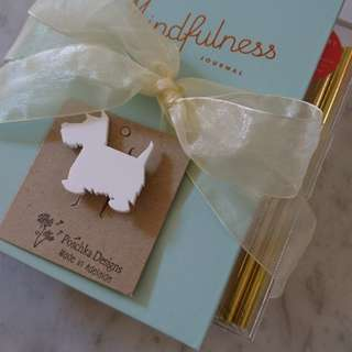 Kikki K Mindfulness Journal and Stationery Set