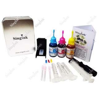 For Canon Cartridge CL 41, 51, 831 Refill Kit Set (Bottle)