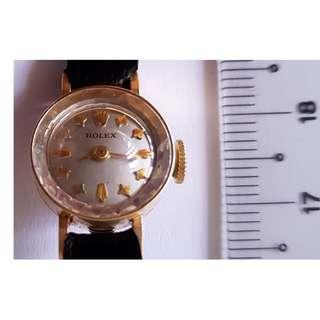 Rolex Vintage Ladies 14kt gold watch