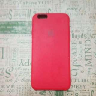 愛鳳IPHONE7蘋果紅霧面防滑手機殼這是原廠公司貨質感很好