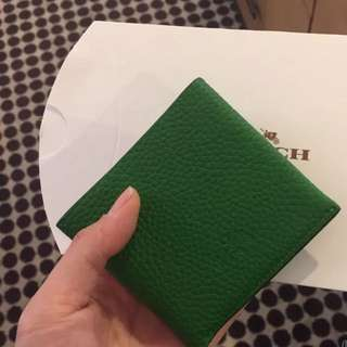 Authentic coach man wallet