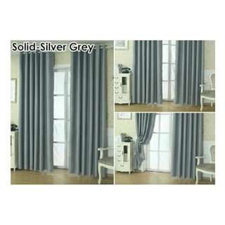 [READY STOCK] 2 Pcs Set Blackout Curtains.👌👌👌