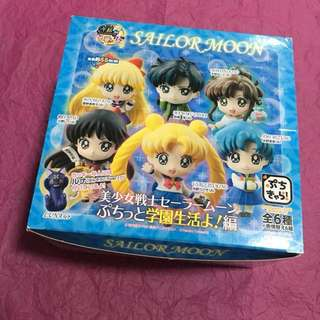 Megahouse - Sailor Moon Petit Chara : Volume 3 School Life (Blind Box - B Type)