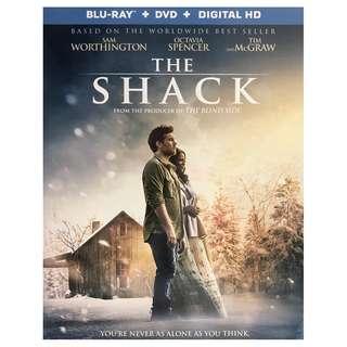 BRAND NEW DVD - THE SHACK (ORIGINAL USA IMPORT CODE 1)