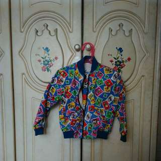 Mickey Printed Kids Jacket