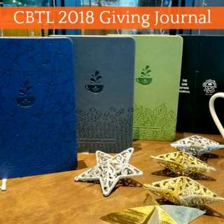 2018 Coffee Bean & Tea Leaf Giving Journal/Planner