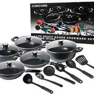Concord Cookware Set.