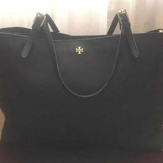 TORY BURCH Auth York Large Buckle Tote