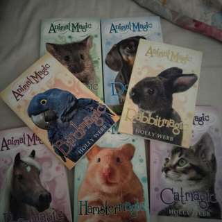 Animal magic books