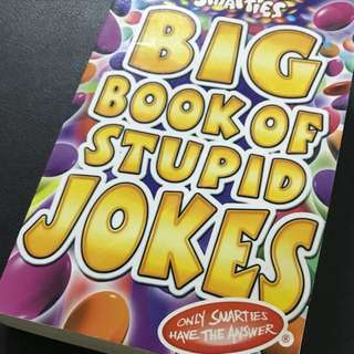 Smarties Big Book is Stupid Jokes