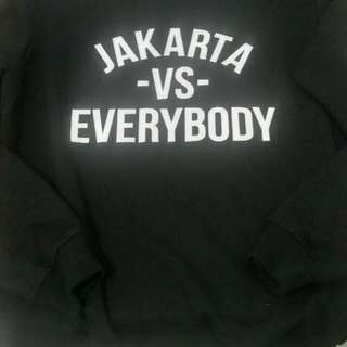 Sweater urbain_shop - JKT vs Everybody