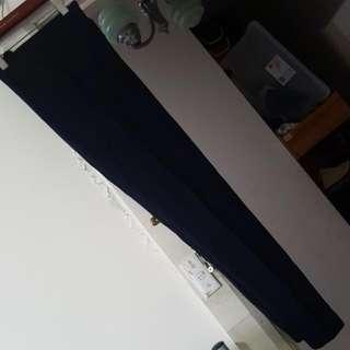 ZARA Navy Blue/Black tights