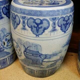 (TGN) flower pot stool