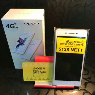 (Pre Owned) Oppo Neo 7 White