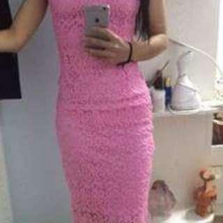 #fashion 100 Pink Color Sensibility Dress