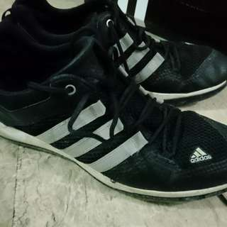 Adidas size 9 rubber shoes
