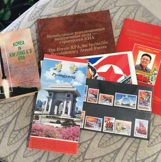 North Korea stamps and memorabilia