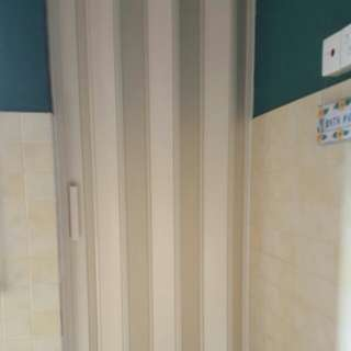 Toilet PVC Multi Folding Door
