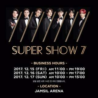Super Show 7 Official Goods