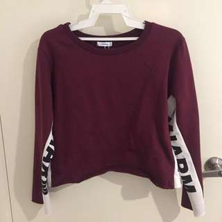 Valley Girl Burgundy Top