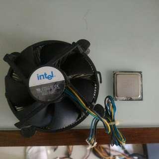 原裝Intel散熱扇連Pentium D處理器