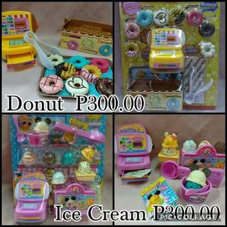Toy Set (Donut & Ice Cream)