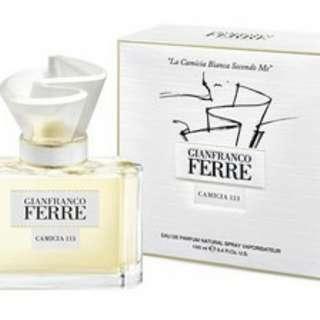 Gianfranco Ferre Camicia 113 perfume 香水 30ml