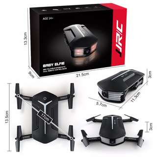 JJRC H37 MINI BABY ELFIE MINI FOLDABLE DRONE WITH DUAL REMOTE CONTROL MODE 迷你航拍機
