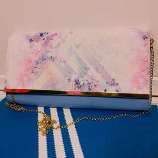 Forever New Floral Clutch