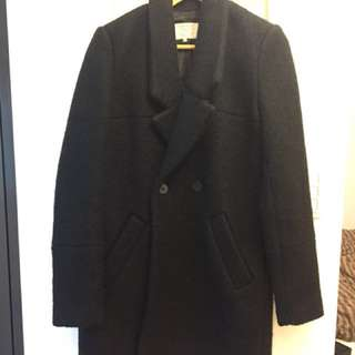 Zara黑色外套/大衣