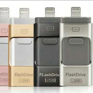 Lightning Flash Drive USB手指 (Apple iPhone iPad iOS/Android/USB)