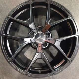 "18"" Rims For Mercedes"