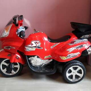 Motor cycle for kids